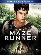 The Maze Runner (Blu-ray Disc, 2014, 2-Disc Set, Includes Slipcover
