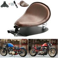 "Motorcycle Solo Seat 3"" Spring Mount Bracket For Harley Honda Yamaha Kawasaki UK"