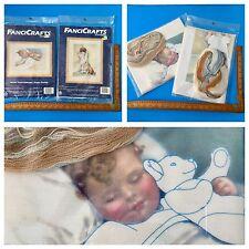 2 Bessie Pease Gutmann's Kits Happy Dreams + In  Disgrace Fancicrafts Stitchery