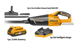 Ingco Li-ion Cordless Vacuum Hand Held 20V
