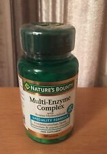 90 Natures Bounty Multi Enzyme Complex Betaine hydrochloride Speciality Formula