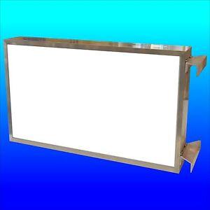 Leuchtkasten Angebot da  Leuchtstoffröhren Ausstecker Leuchtwerbung 1x 0,5 m NEU
