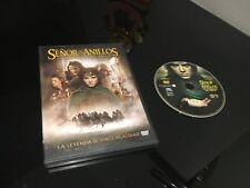 EL SEÑOR DE LOS ANILLOS DVD LA COMUNIDAD DEL ANILLO