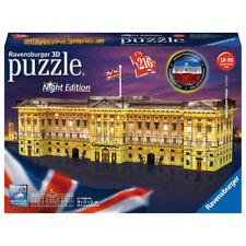 Ravensburger Buckingham Palace Night Edition 3D Puzzle - 125629 - 216 Pieces