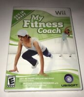 NINTENDO WII GAME MY FITNESS COACH BRAND NEW SEALED
