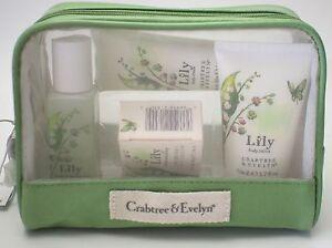 Crabtree & Evelyn LILY 5pcs Bath Gift Set   NIB
