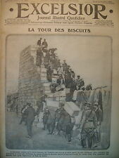 WW1 No No 1869 Saloniki Tour Biscuit Tommies Artillery Italy Excelsior 1915