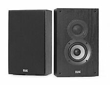 ELAC Debut 2.0 OW4.2 80W On-Wall Speaker Pair in MDF Cabinet - Black Ash