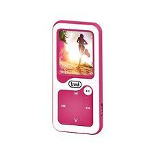 Mini lettore Mp3 x uso sportivo Trevi Con contapassi Bluetooth Porta USB Fucsia
