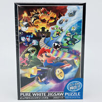 Mario Kart Pure White Jigsaw Puzzle Super Nintendo World Universal Studios Japan