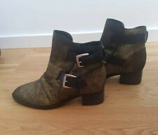 Luxury Rebel Stiefeletten Boots Gold Stiefel 37.5