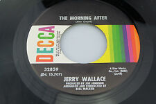 Jerry Wallace: The Morning After / I Can't Take It Anymore  [Unplayed Copy]
