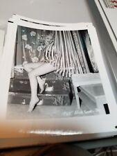 4 X 5 ORIGINAL NEGATIVE PHOTO FROM IRVING KLAW OF MODEL PAT HOBSON #30