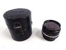 Nikon Srs E Nikkor 28mm 1:2.8 AI-S Wide Angle Lens W/ Nikon CL-30s Case 2112306