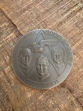 Franklin Mint Star Trek 25th Anniversary Pewter Coin and Stand
