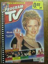 PROGRAM TV 48 (26/11/99) NICOLE KIDMAN JEAN RENO