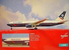 Herpa Wings 1:500 Boeing 767-300 British Airways G-BNWN 529822  Modellairport500