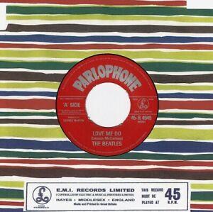 THE BEATLES Love Me Do Vinyl Record Single 7 Inch Parlophone Lennon & McCartney