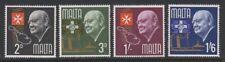 Malta - 1966, Churchill Commemoration set - MNH - SG 362/5