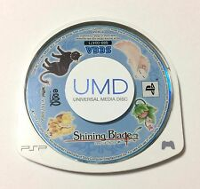 USED PSP Disc Only Shining Blade JAPAN Sony PlayStation Portable import Japanese
