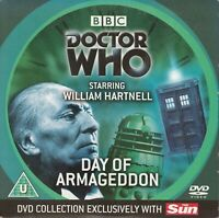 DOCTOR WHO DAY OF ARMAGEDDON WILLIAM HARTNELL DVD LOST IN TIME