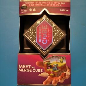 MERGE CUBE Hold Holograms in Your Hand Virtual Game Toy for Android & iPhone NEW