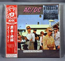 AC/DC Dirty Deeds Done JAPAN Mini LP CD SICP-1701 w/Silver Sticker NEW Sealed!