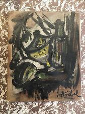 Edgar Stoebel huile sur toile Oil on canvas XXème siècle peintre Français French