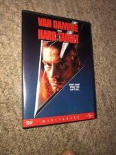 Hard Target DVD Jean Claude Van Damme 1993 1998 Release MINT CONDITION