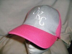 #3146l -LADIES PINK OKLAHOMA CITY DODGERS MINOR LEAGUE BASEBALL CAP, HAT