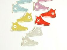 Sneakers Trainers Papercraft Embellishments Scrapbooking Card Making Crafts