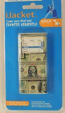 iJacket cover case for iPod Nano 2nd gen 2G Dollar bill w/ belt clip & Lanyard