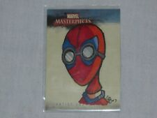 MARVEL MASTERPIECES SKETCH CARD BY CHAD