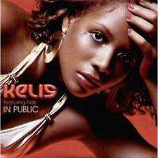 KELIS FEATURING NAS In Public CD UK Virgin 2005 1 Track Radio Edit Promo In