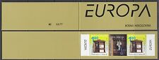 Europa Cept 2003 Bosnia/Herz Mostar booklet strip 2v+label ** mnh