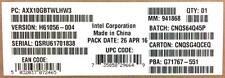 Intel AXX10GBTWLHW3 Dual RJ-45 port 10GBASE-T IO Module New Bulk Packaging