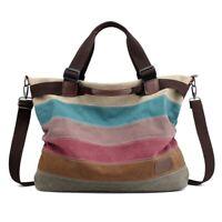 New Premium Hobo Shoulder Bag Satchel Crossbody Tote bag Purse Canvas Messenger