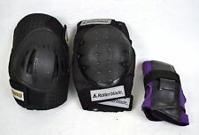 Rollerblade Knee & Elbow Pads Small Black Wrist Guards Purple M Mixed Lot