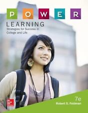 P.O.W.E.R. Learning : Strategies for Success in College and Life by Robert S. Fe