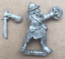 "GW Cittadella in metallo anni'90 Impero Warhammer Mordheim ""reiklander CHAMPION""!"