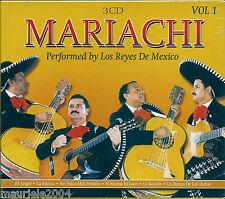 Mariachi vol.1 (2004) BOX 3 CD NUOVO Los Reyes de Mexico. Cumbia arabe. La bamba