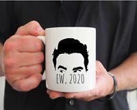 Ew David 2020 Coffee Mug Schitts Creek Fan Gift David Rose Mug Christmas Mug Ew