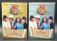 DVD: Sammlung IN 80 TAGEN UM DIE WELT / Komplett Deutsch 1-2