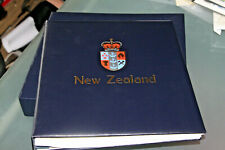 NEW ZEALAND - 2008-11 SG/DAVO HINGELESS ALBUM ALL LEAVES WITH CASE - EMPTY