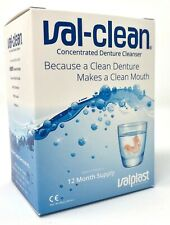 Val-Clean Concentrated Denture Cleaner - Box 12 Sachets 1 Year For Valplast