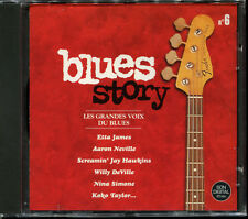 BLUES STORY - N°6 LES GRANDES VOIX DU BLUES - CD COMPILATION NEUF ET SOUS CELLO