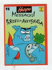 figurina card - HARPO MASTER CARDS  - numero 98
