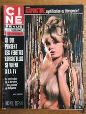 Ciné Revue n 42 1971 Mamie VAN DOREN BELMONDO Bing CROSBY Madeleine ROBINSON