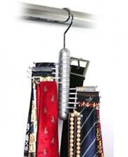 Revolving Belt Storage Closet Organizer Rack for Neck Ties Closet Holder Holding