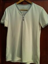 "Mens T-Shirt Grey Trim Chest 36"" (B6)"